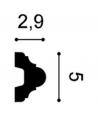 Listwa ścienna P4020