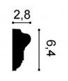 Listwa ścienna P6020